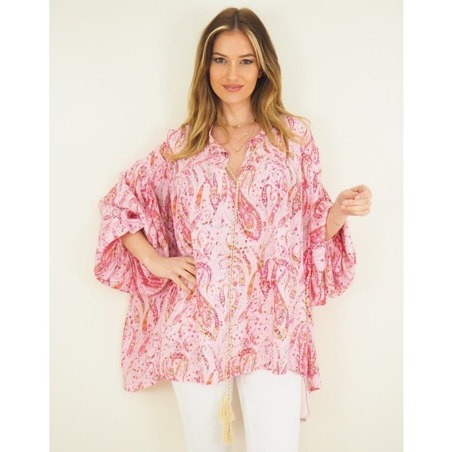 Tuniek Oversized Cashmere Pink