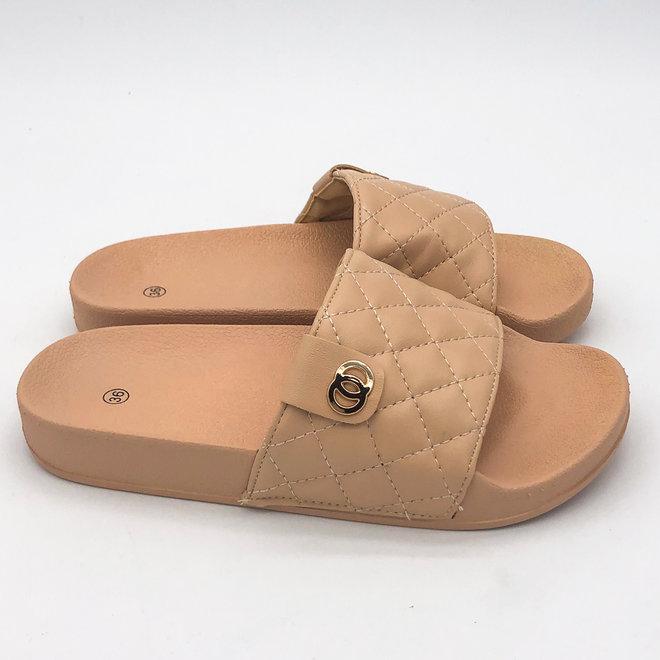 Slippers Braid CC Beige