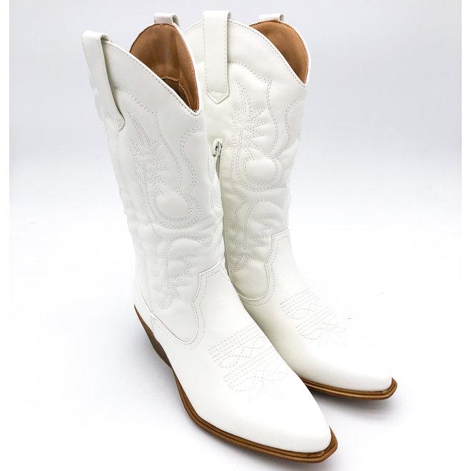 Cowboylaarzen Wit