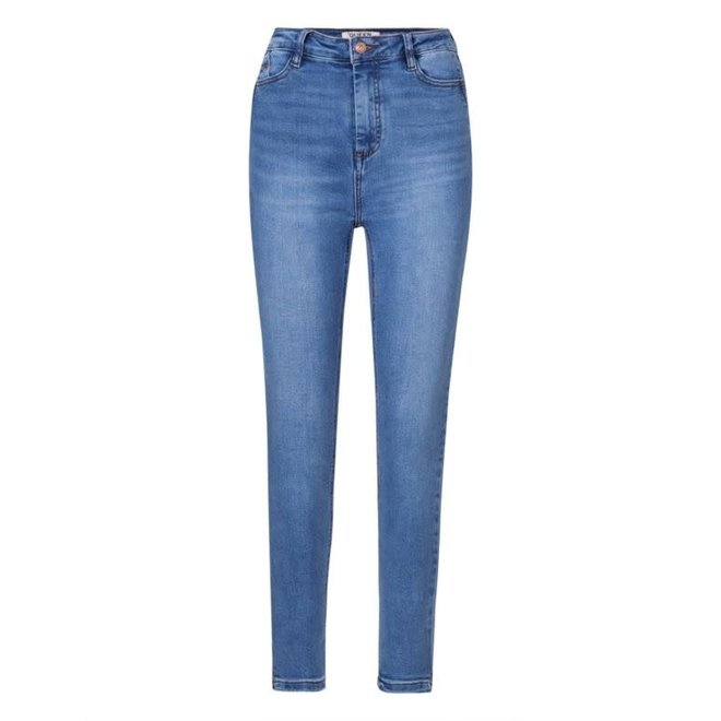 Jeans Skinny High Waist Medium Blue