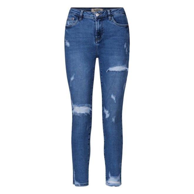 Jeans Destroyed Dark Blue
