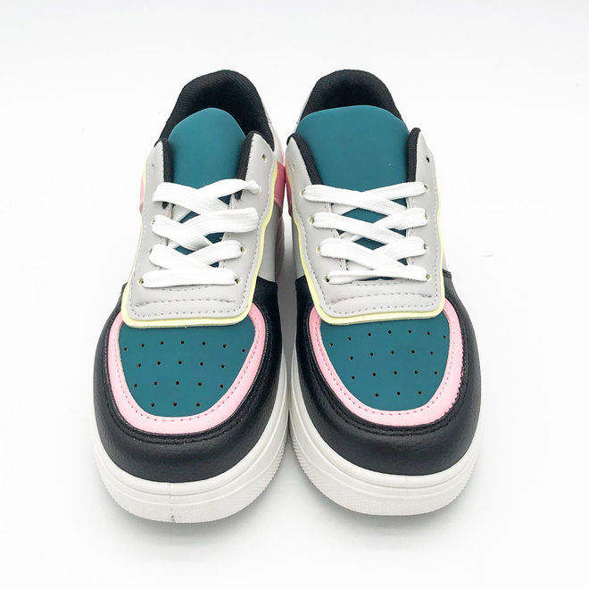 Sneakers Air Force Colour Pink