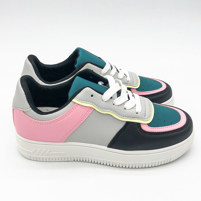 Sneakers street Colour Pink