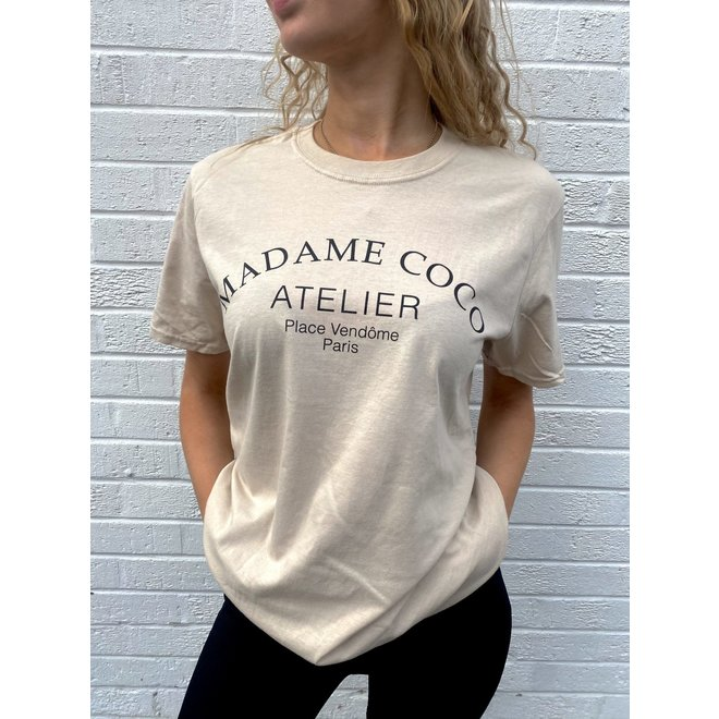 T-shirt Madame Coco Beige