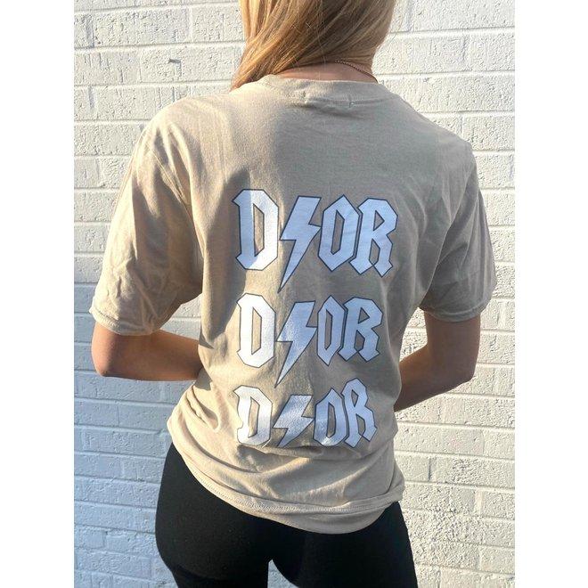 T-shirt D ⚡ O R Beige