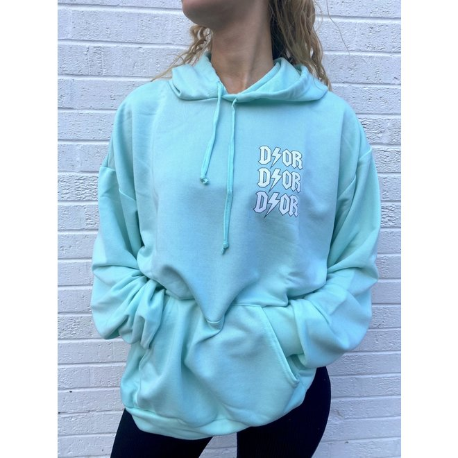 D ⚡ O R Oversized Hoodie Mint One Size