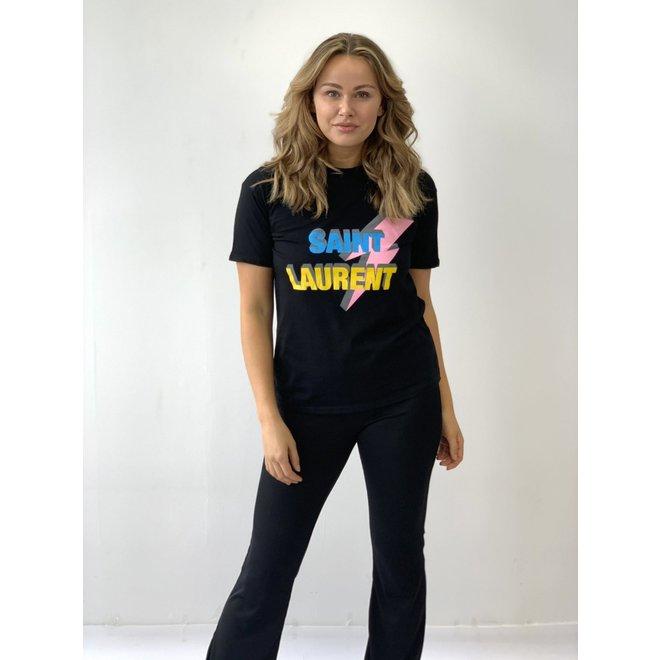 T-shirt Sai nt ⚡ Lau-rent Zwart