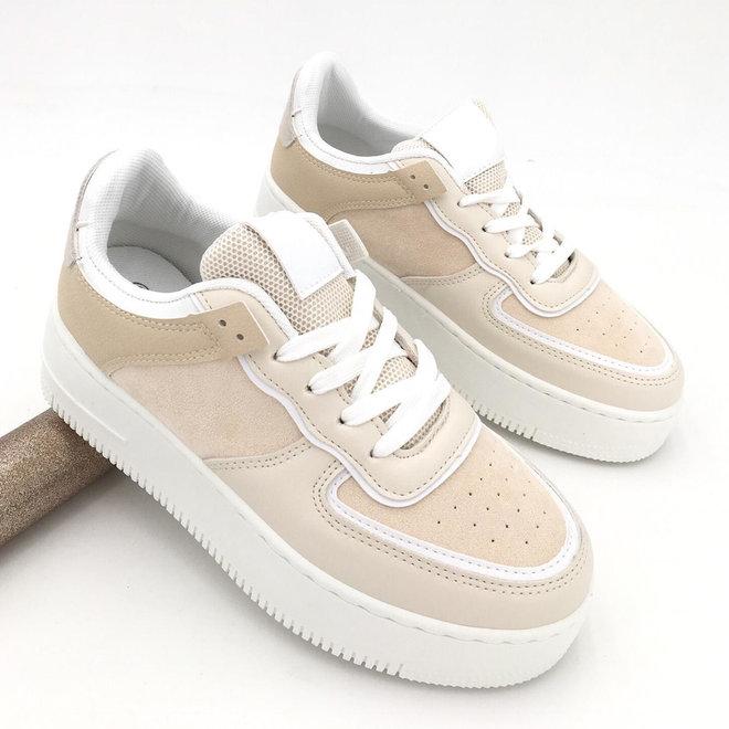 Sneakers street Beige