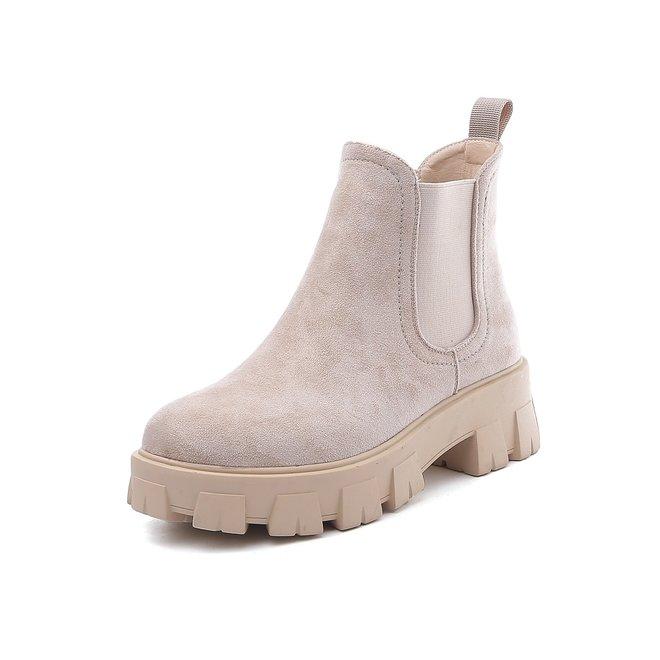 Chelsea boots Beige Suède