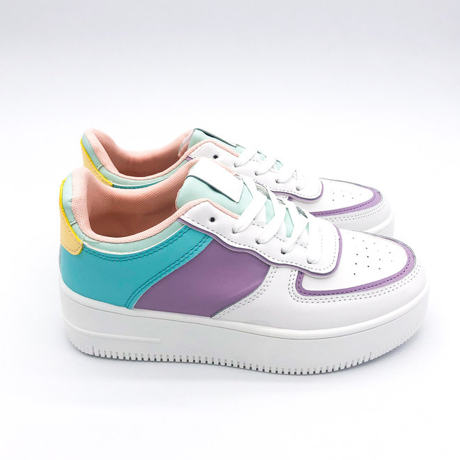 Sneakers Air force Colour Lila