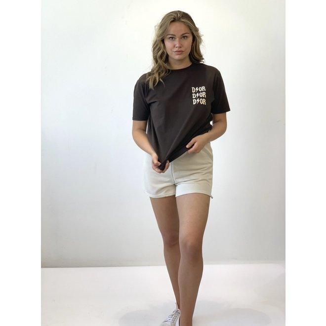 T-shirt D ⚡ O R  Bruin Beige