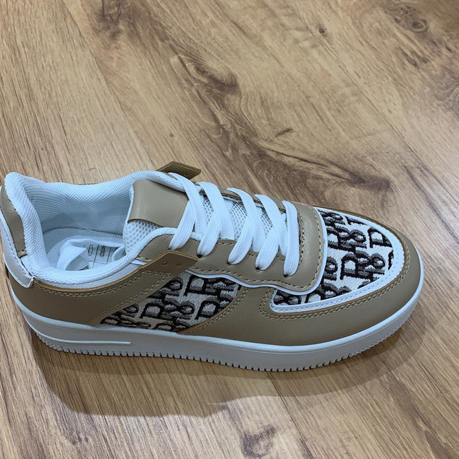 Sneakers Air Force D I O R Khaki