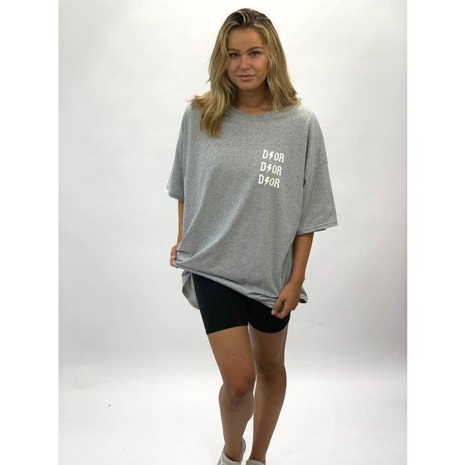 T-shirt Dress D I O R Grijs Wit