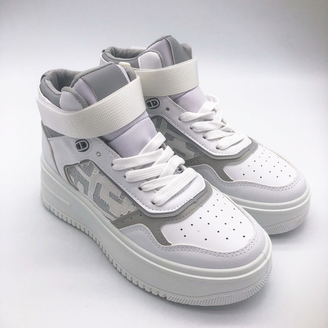 Sneakers Air Force Hoog Band Wit