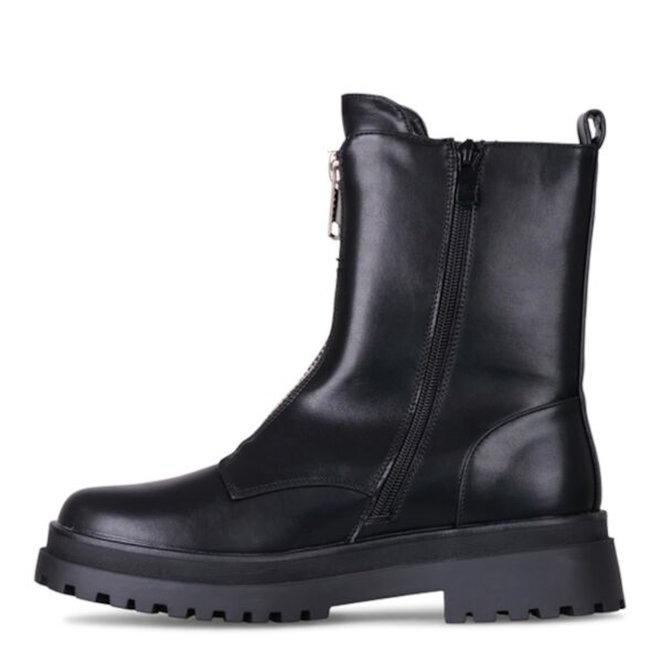 Biker boots Rits Zwart