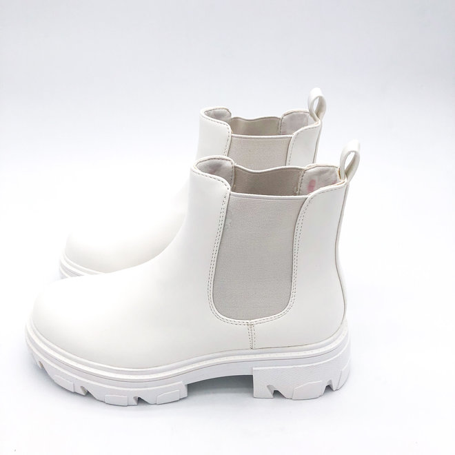 Chelsea boots Wit