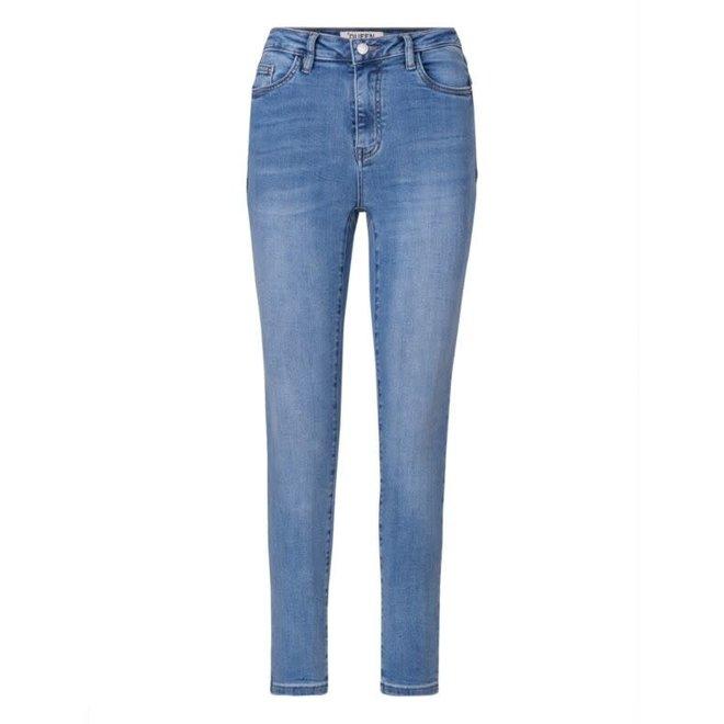 Jeans Queen Hearts Medium Blue