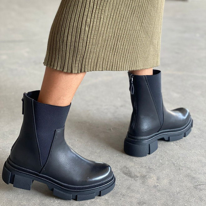 Chelsea boots Rits Zwart