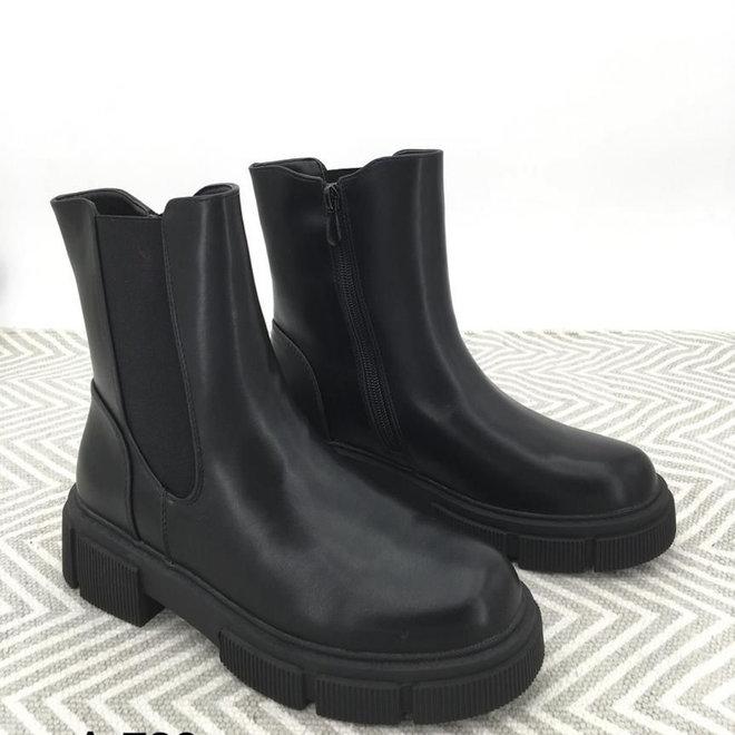 Chelsea boots Zip Zwart