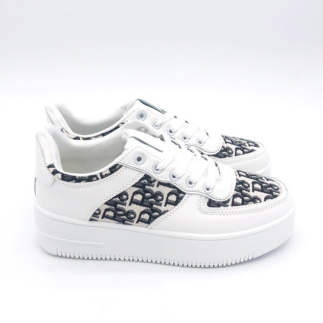 Sneakers Air Force D I O R Wit