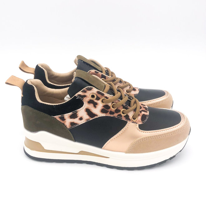 Sneakers Strada Groen Leo