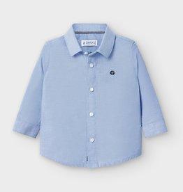 Mayoral mayoral l/s basic oxford shirt lavender