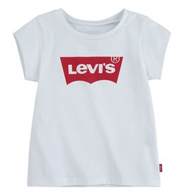 LEVIS LEVIS BATWING A LINE TEE RED WHITE