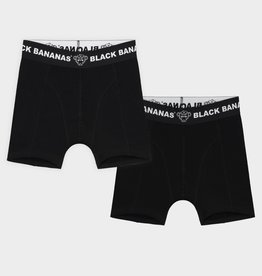 Black Bananas BLACKBANANAS JR BOXERSHORT 2 PACK BLACK