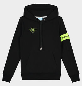 Black Bananas BLACKBANANAS JR CAPTAIN HOODY BLACK