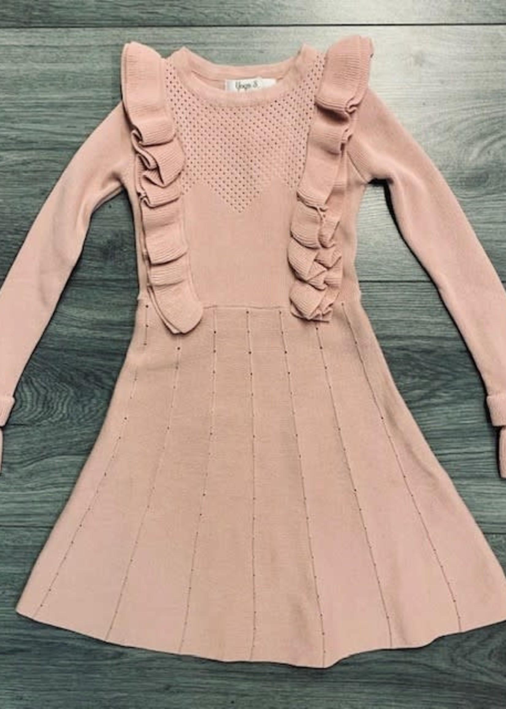 Divanis DIVANIS CHIQUE DRESS PINK