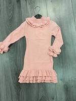 Divanis Ruffle Dress pink