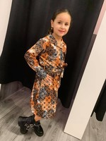 Divanis DIVANIS DRESS BRUIN LOOK A LIKE
