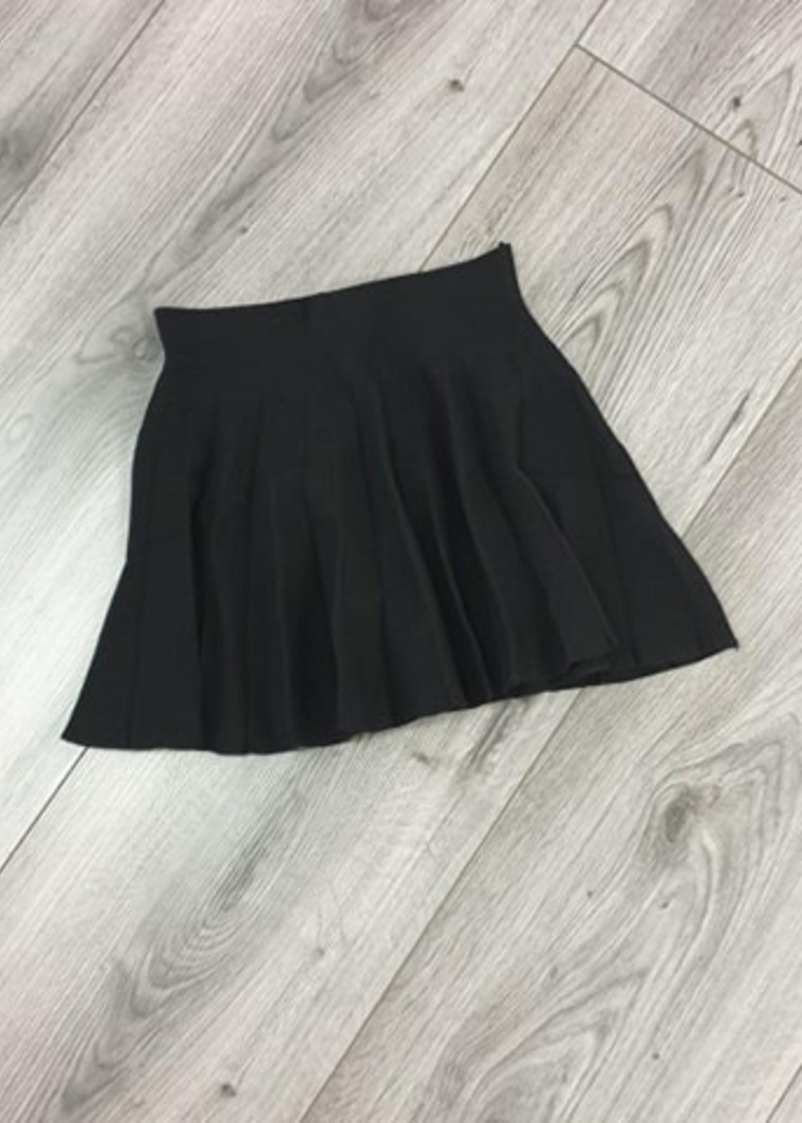 Divanis Plooirokje zwart