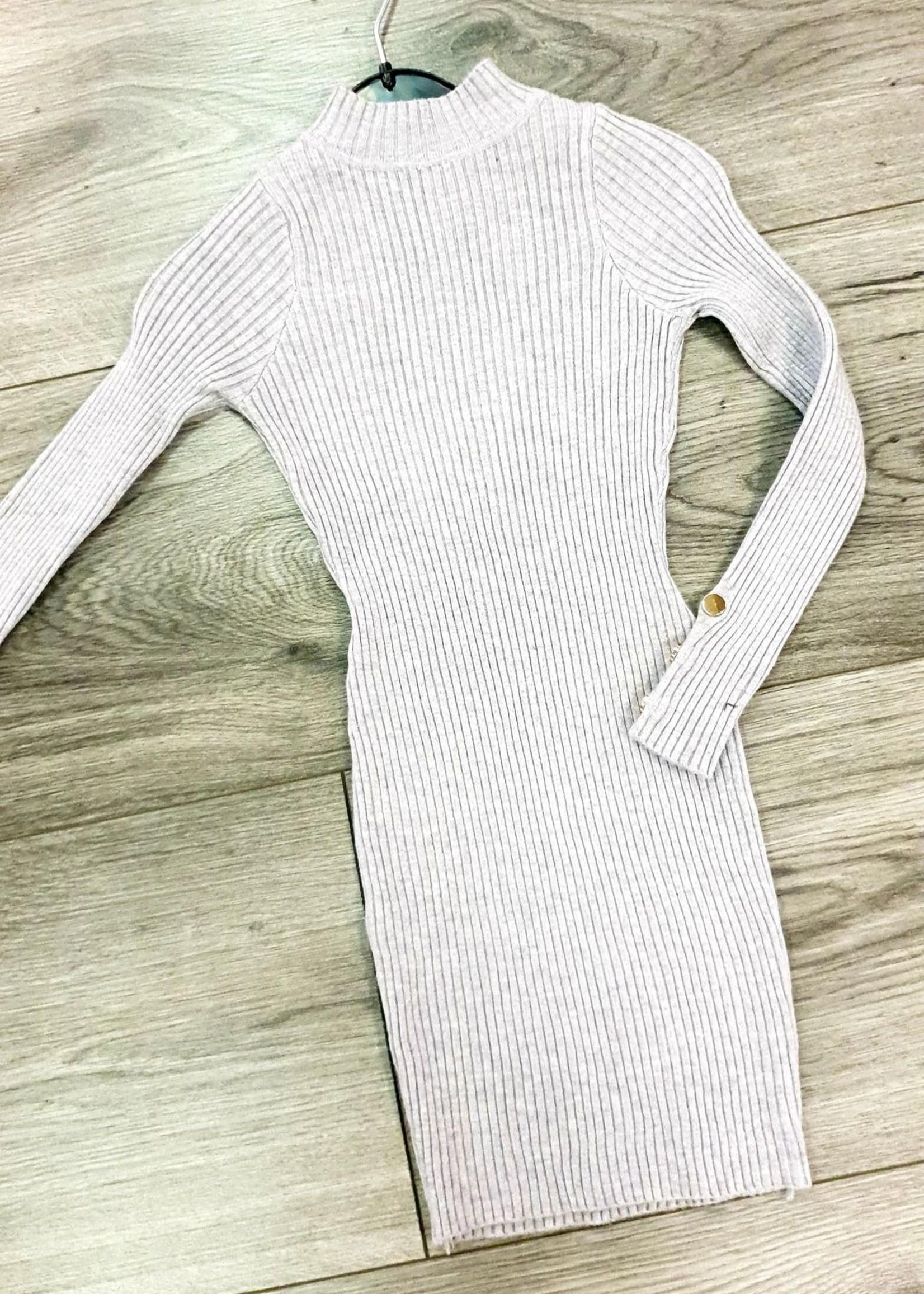 Divanis dress kiddstar grey