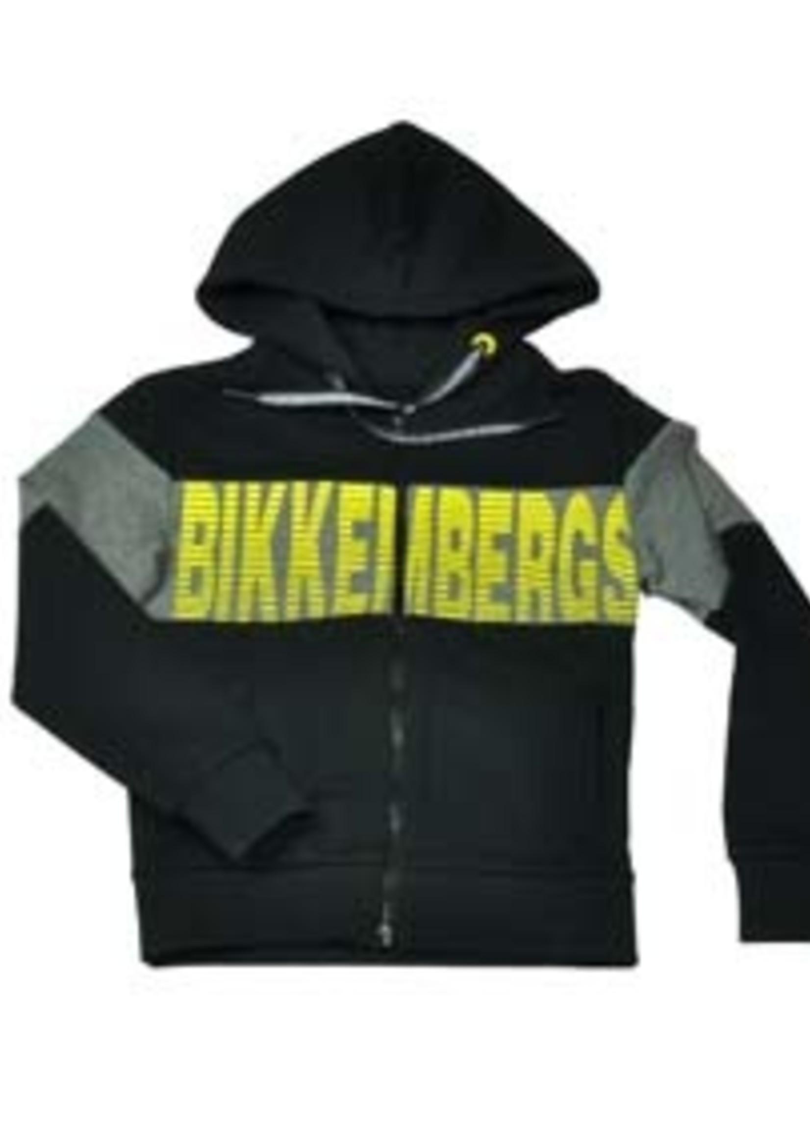 Bikkembergs BIKKEMBERGS HOODIE JACKET BLACK
