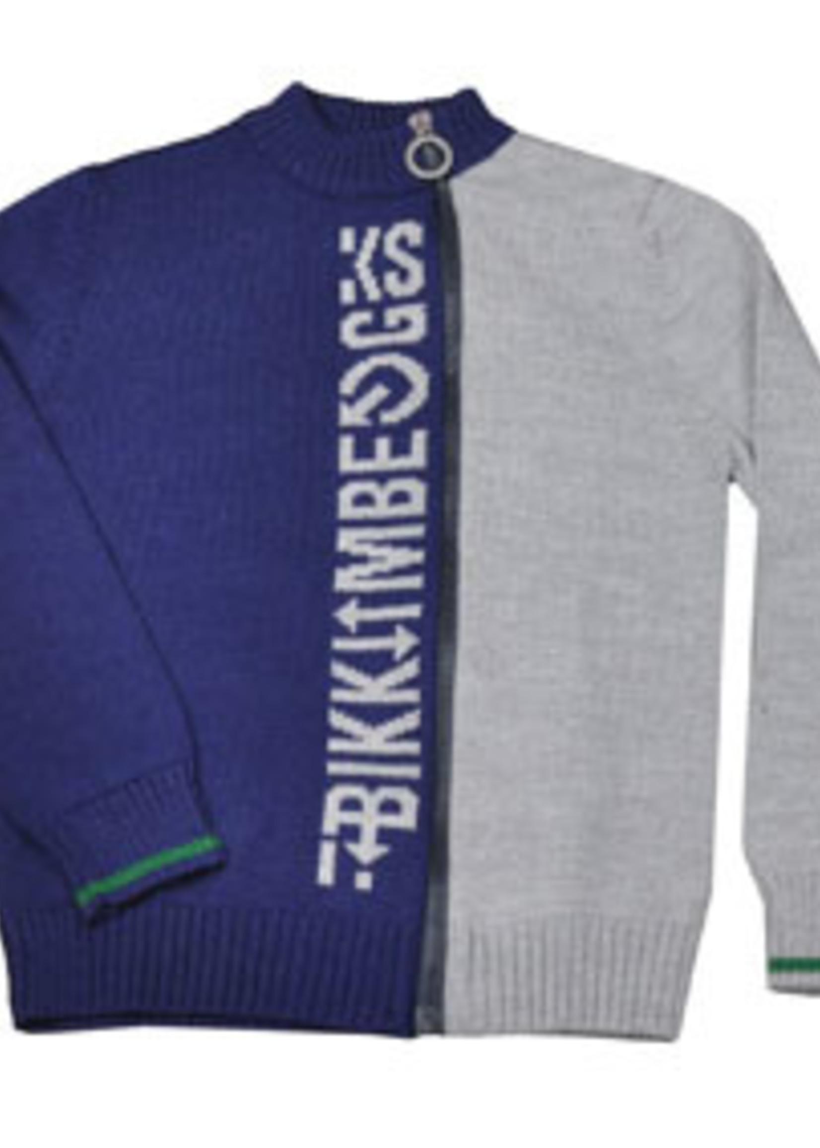 Bikkembergs BIKKEMBERGS CARDIGAN NAVY BLUE