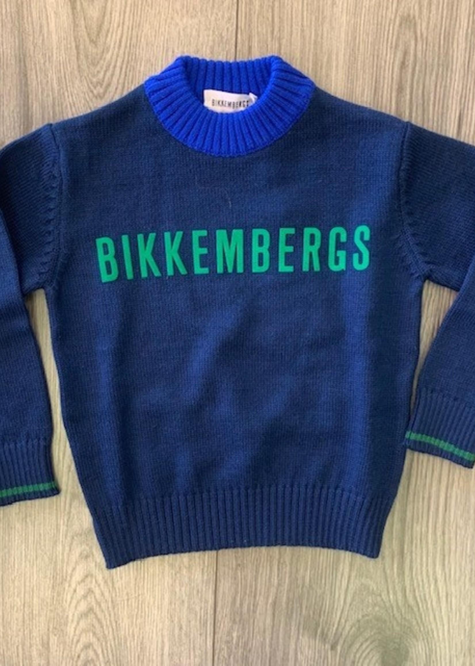 Bikkembergs BIKKEMBERGS SWEATER NAVY BLUE.