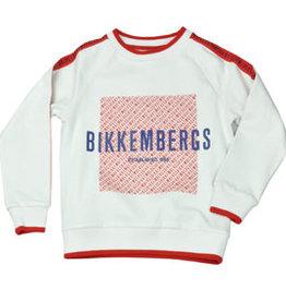 Bikkembergs BIKKEMBERGS SWEATER WIT
