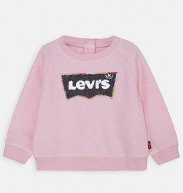 LEVIS LEVIS CREWNECK PINK