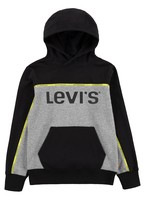 LEVIS LEVIS PIPED PULLOVER HOODIE BLACK