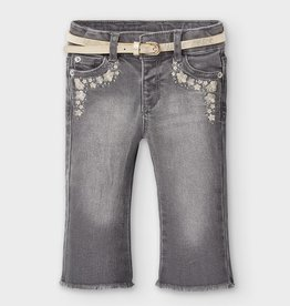 Mayoral MAYORAL FLARED LONG DENIM PANT