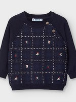 Mayoral MAYORAL CHECK SWEATER
