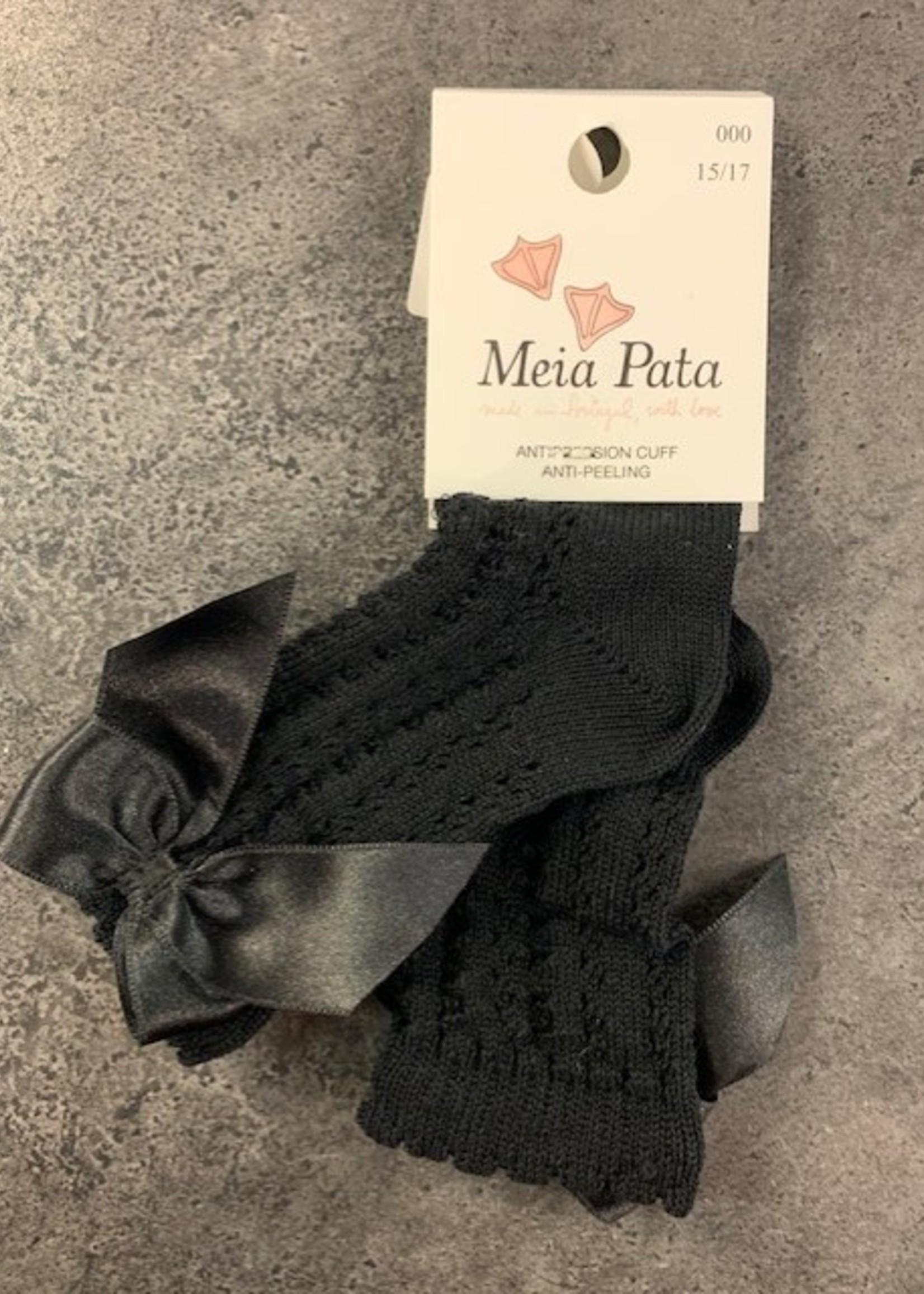 Mei pata meiapata perle fantasy kneesocks with satin bow