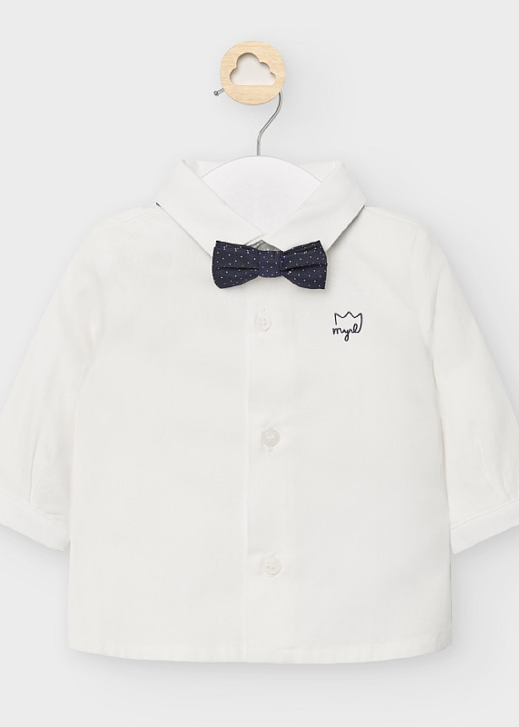 Mayoral MAYORAL LS TSHIRT AND BOWTIE