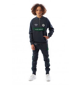 Black Bananas BLACKBANANAS JR HIGH COLLAR TRACKSUIT GREY