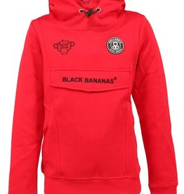 Black Bananas BLACKBANANAS JR FC HOODY FLEECE NEON PINK