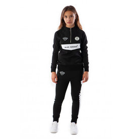 Black Bananas BLACKBANANAS JR HIGH COLLAR TRACKSUIT BLACK
