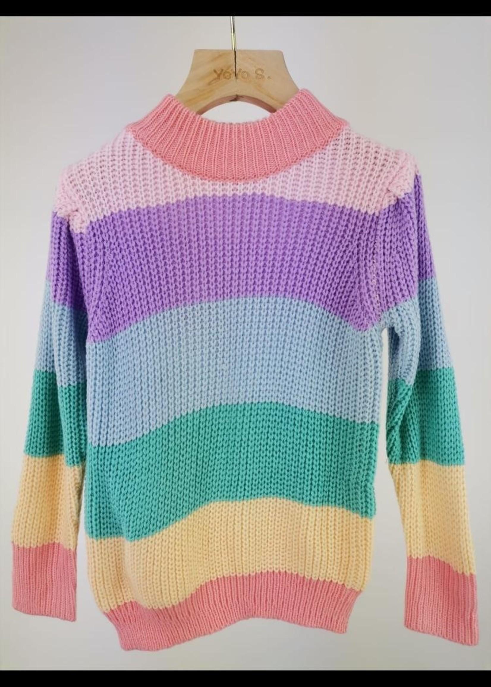 Divanis Divanis Rainbow sweater