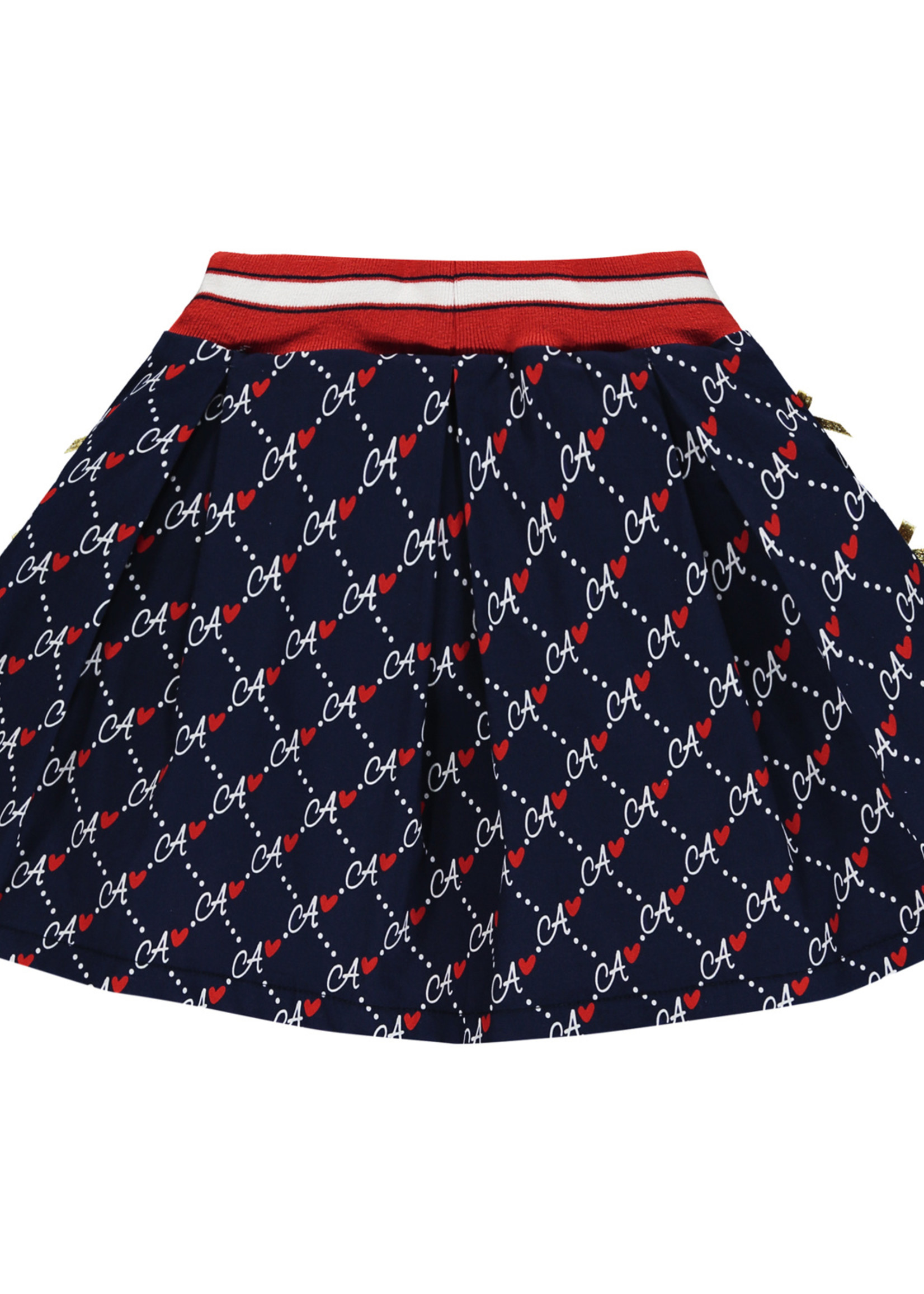 A Dee Madison Diamond print skirt