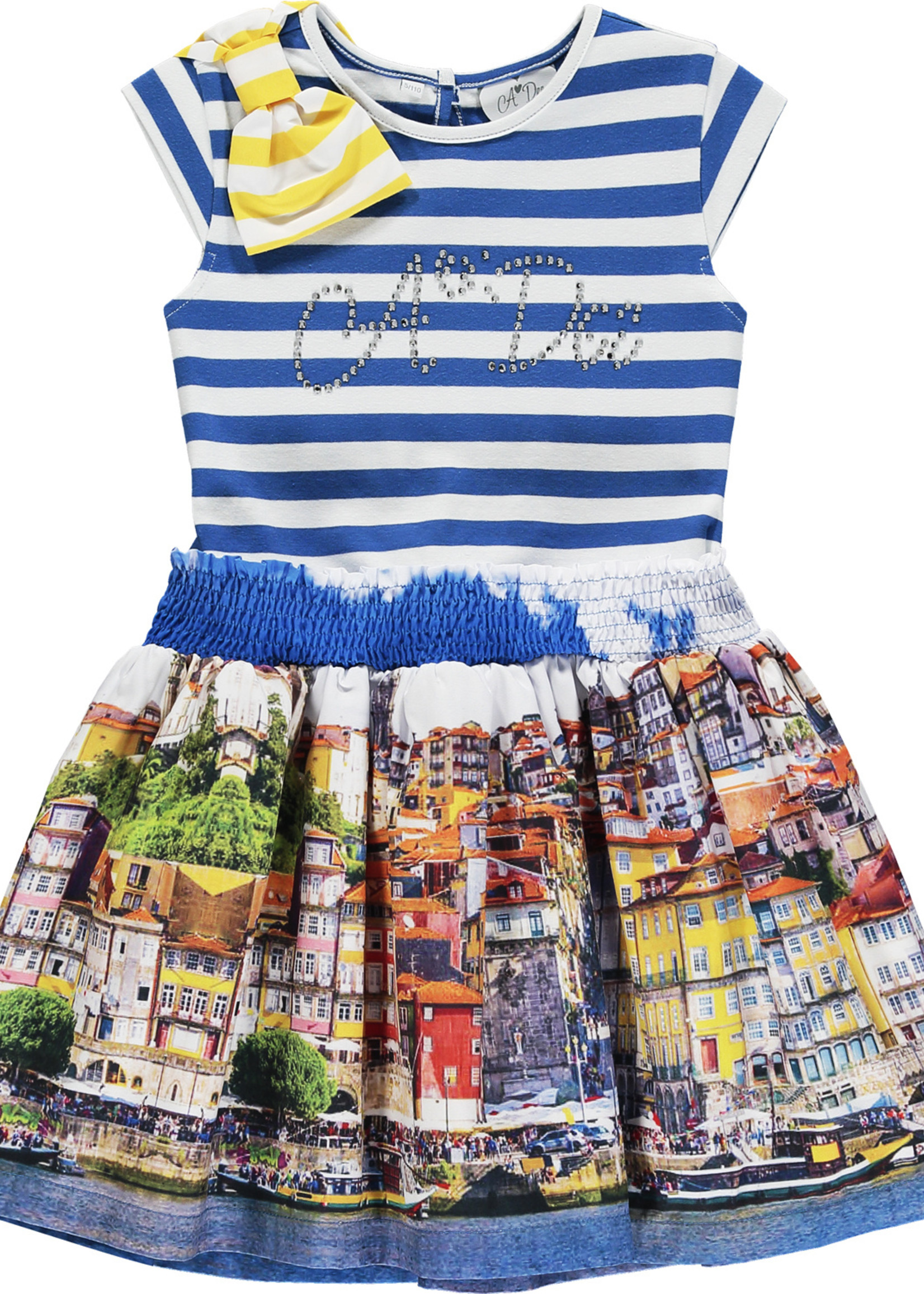 A Dee Leah photoprint dress